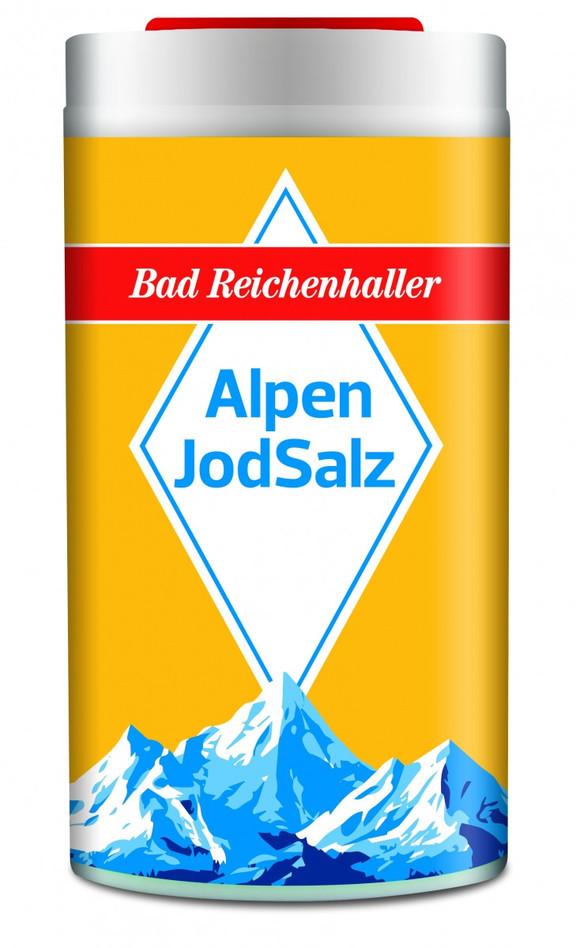 Альпийская йодированная соль AlpenJodSalz (2 шт.)