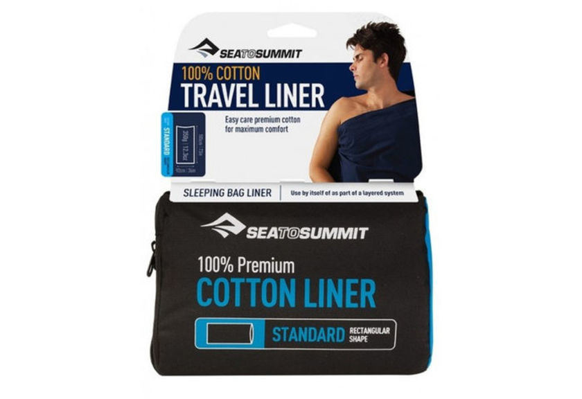 Вкладыш в спальник Sea To Summit Premium Cotton Liner Standard