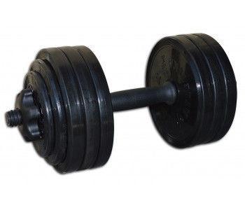Гантель разборная черная 18,82 кг Inter Atletika (СТ 530.20)