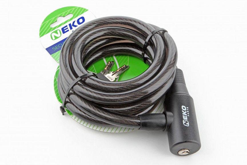 Neko Замок NK-505-12 спираль ключ 12х1800мм
