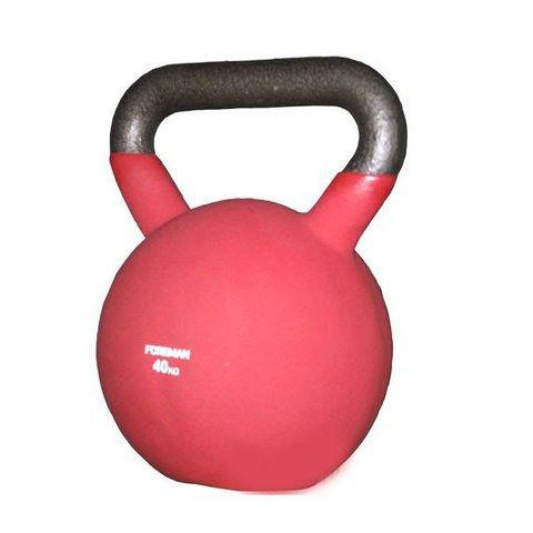 Гиря двухцветная FOREMAN, 40 кг (красный)
