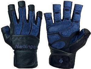 Перчатки HARBINGER BioForm WristWrap Black/Blue