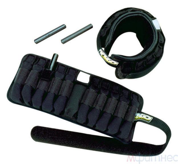 Отягощения для рук / ног регулируемые TKO, 2,3 кг, пара