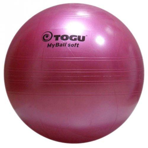 Мяч гимнастический TOGU My Ball Soft, 65 см. (розовый)