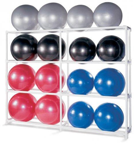 Подставка под гимнастические мячи SPRI Ball Rack (на 16 шт.)