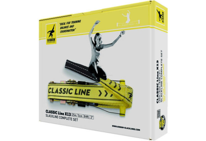 Слэклайн Gibbon Classic Line XL 25 m