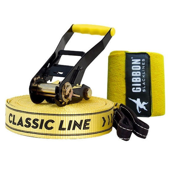 Слэклайн Gibbon Classic Line XL X13 Tree Pro Set 25 m