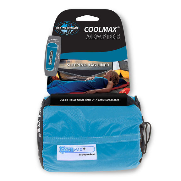 Вкладыш в спальник Sea To Summit Coolmax Adaptor Liner