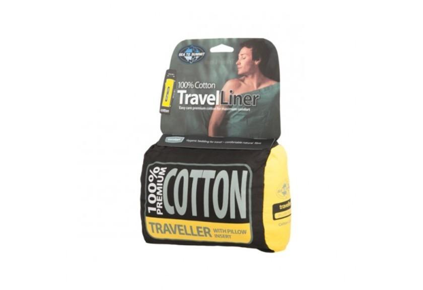 Вкладыш в спальник Sea To Summit Cotton Liner Traveller