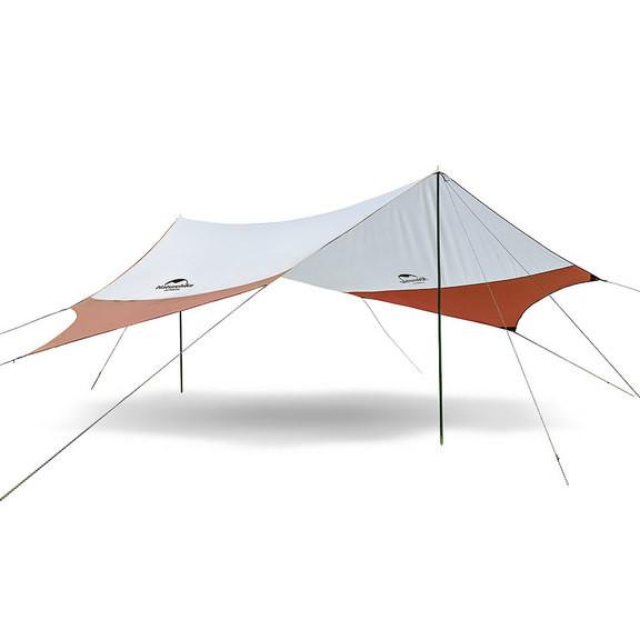 Тент кемпинговый NatureHike 210T polyester 4.0х3.5 м