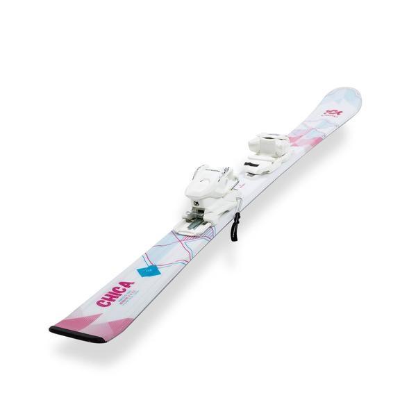 Комплект: лыжи Volkl Chica vMotion 17/18 + крепление 7.0 VMotion Jr