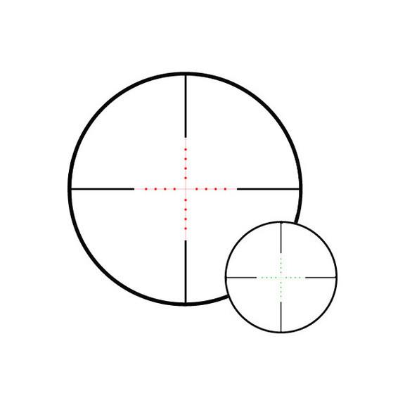 Прицел оптический Hawke Vantage IR 3-9x40 AO (Mil Dot IR R/G)