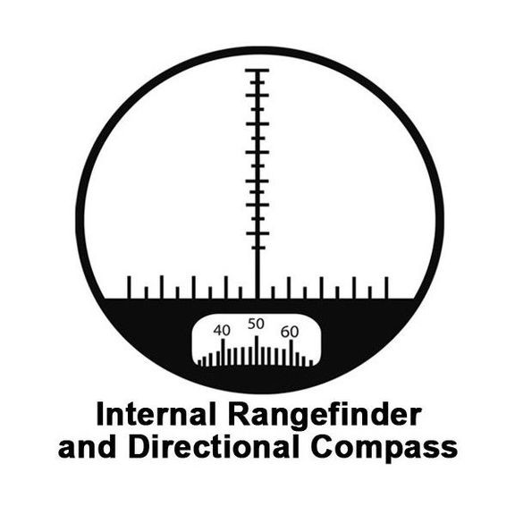 Бинокль Barska Battalion 7x50 WP/RT/Compass Protected