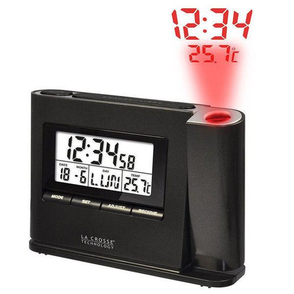Проекционные часы La Crosse WT518-Dark/Grey
