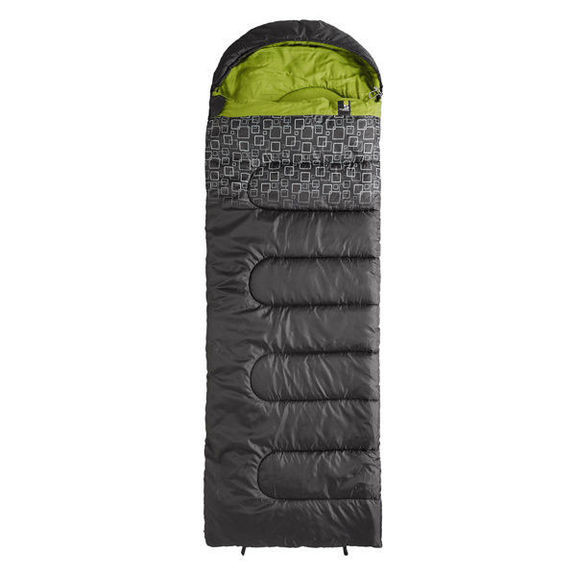 Спальный мешок Caribee Moonshine / +5°C Charcoal/Green