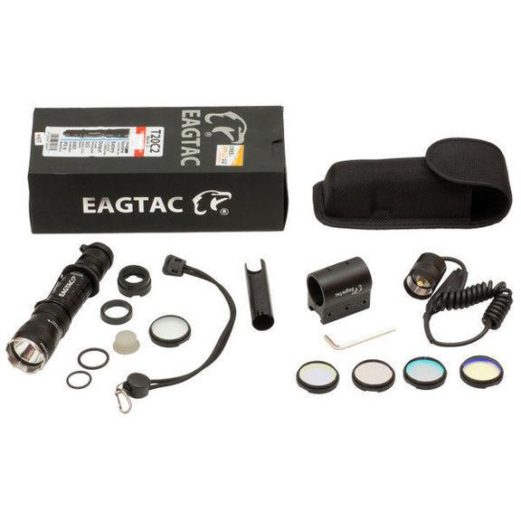 Фонарь Eagletac T20C2 MKII XM-L2 U2 (850 Lm) Weapon YRGB Kit