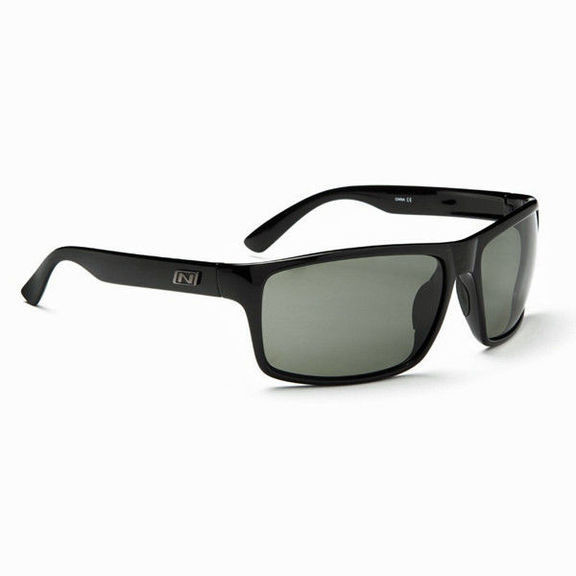 Очки солнцезащитные Optic Nerve Drago Shiny Black (Polarized Smoke)
