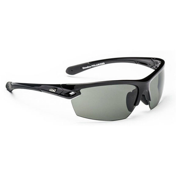 Очки солнцезащитные Optic Nerve Voodoo Shiny Black (Polarized Smoke)