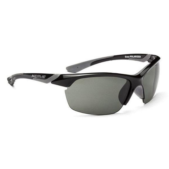 Очки солнцезащитные Optic Nerve Crux Shiny Black (Polarized Smoke)