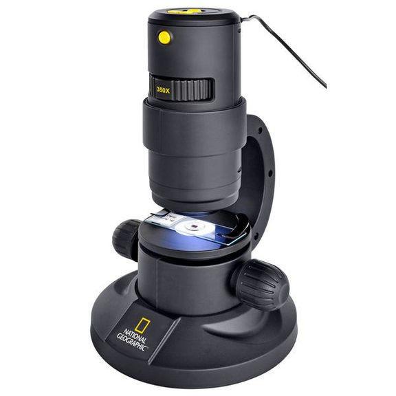 Микроскоп National Geographic 20x/80x/350x