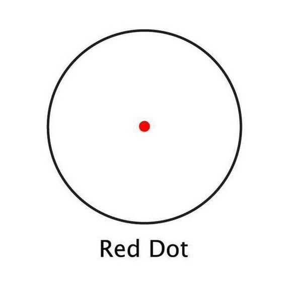 Прицел коллиматорный Barska Red Dot 1x20