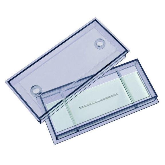 Предметное стекло Bresser cо шкалой 0.1 мм