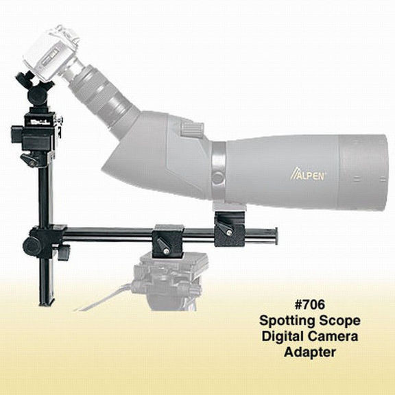 Крепление фотокамера-подзорная труба Alpen
