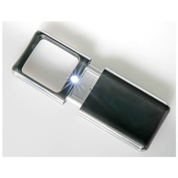 Увеличительное стекло Bresser 3x (35x50мм)