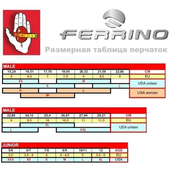 Перчатки Ferrino Screamer