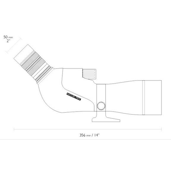 Подзорная труба Hawke Nature Trek 9-27x56/45 WP