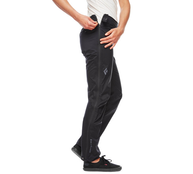Штаны женские Black Diamond Stormline Stretch FL ZP Rain Pants