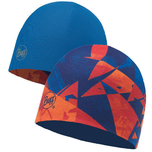 Шапка Buff Microfibre Reversible Hat Rush Multi - Blue Skydiver