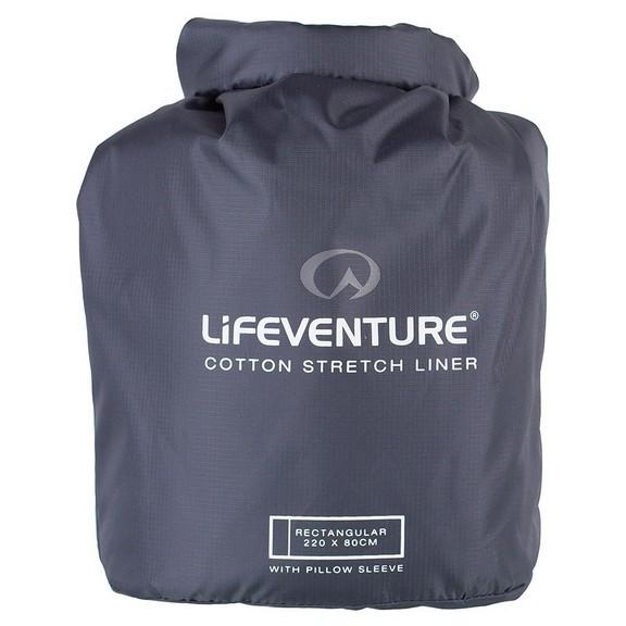 Вкладыш Lifeventure Cotton Stretch Rectangular