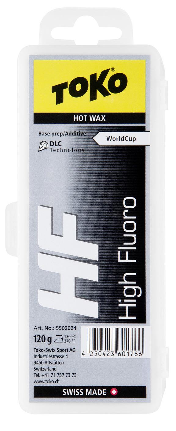 Воск для агрессивного снега Toko HF Hot Wax black 120g