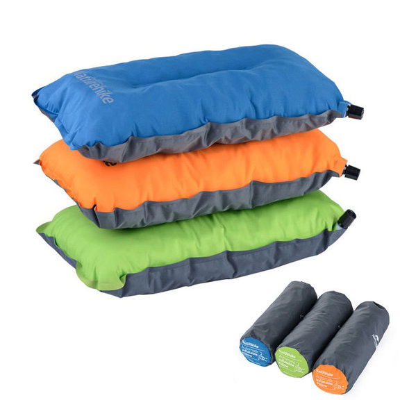 Подушка самонадувающаяся Naturehike Sponge automatic Inflatable Pillow