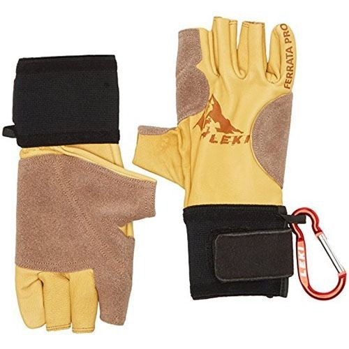 Перчатки-митенки Leki Ferrata Pro