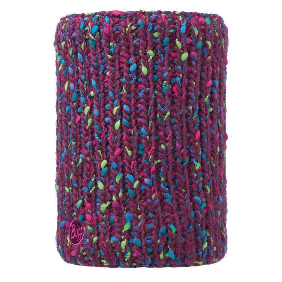 Бафф Buff Neckwarmer Knitted and Polar Fleece Yssik Amaranth Purple