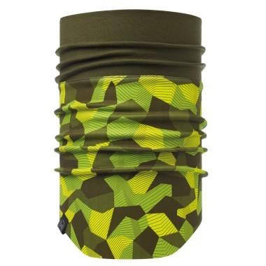 Бафф Buff Windproof Neckwarmer block camo green