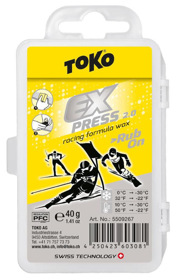 Воск Toko Express Racing Rub On 40g