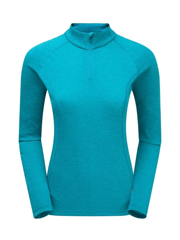Футболка Montane Dart Zip-Neck T-Shirt Female
