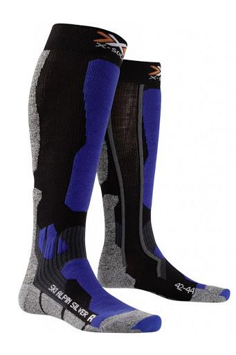 Термооски X-Socks Ski Alpin Silver