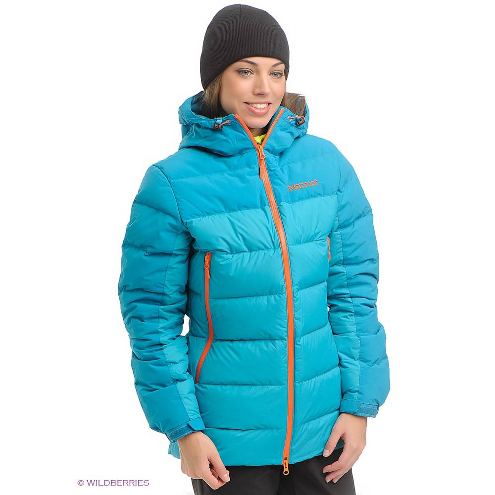 Пуховик женский Marmot Mountain Down Jacket Old в интернет ...
