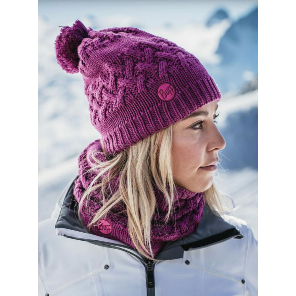 44fbc6ee54f Шапка Buff Knitted   Polar Hat Savva Mardi Grape в интернет-магазине ...