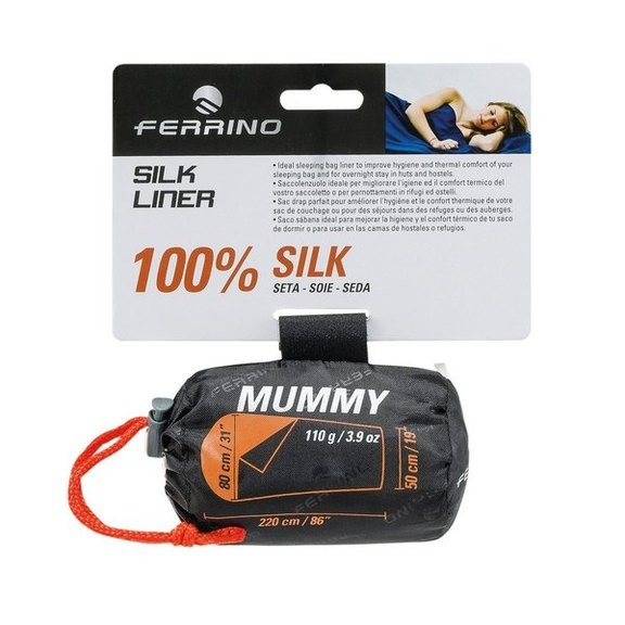 Вкладыш для спального мешка Ferrino Liner Silk Mummy